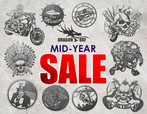 Everything 2019 - Volume 1 of 2 - Mid-Year Sale - DXF Download