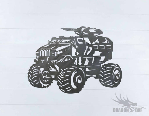 Military Vehicle Design 1 - DXF Download