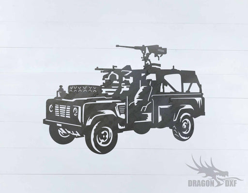 Military Vehicle Design 2 - DXF Download