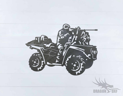 Military Vehicle Design 4 - DXF Download