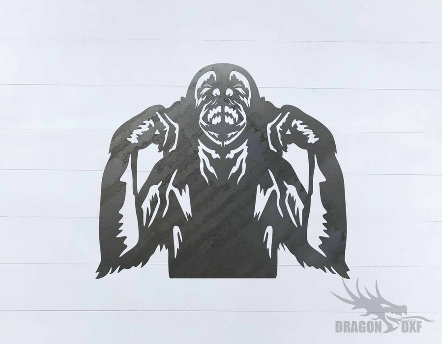 Animal - Monkey 6 Design - DXF Download