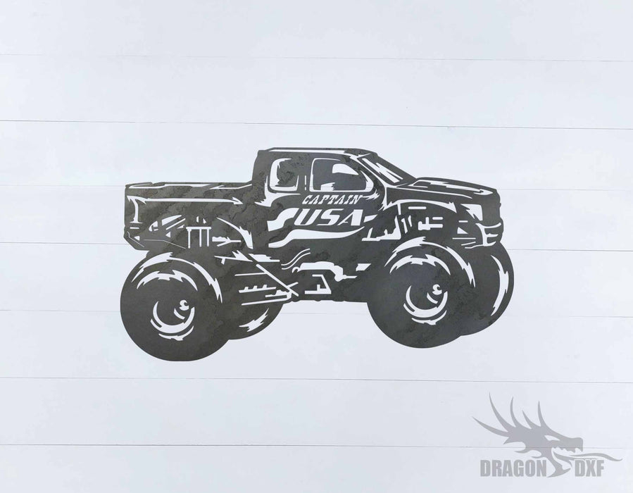 Monster Truck Design 12 - DXF Download