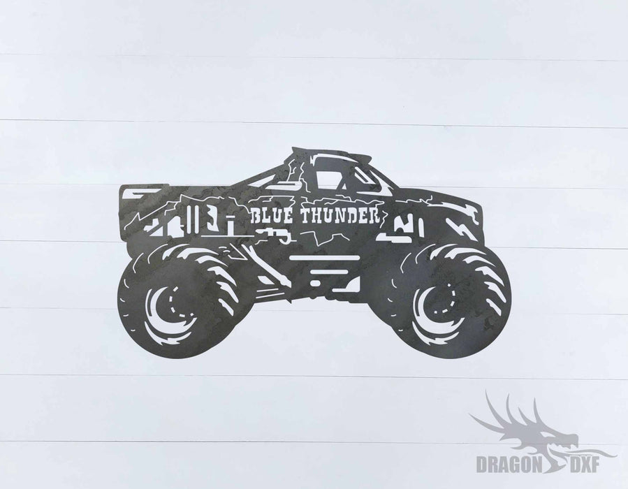 Monster Truck Design 15 - DXF Download