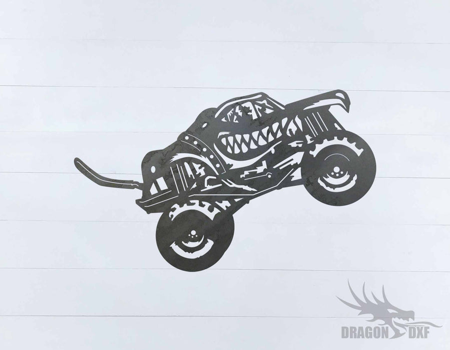Monster Truck Design 20 - DXF Download