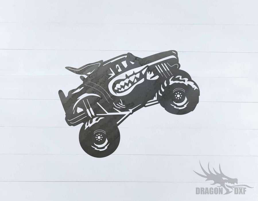 Monster Truck Design 2 - DXF Download