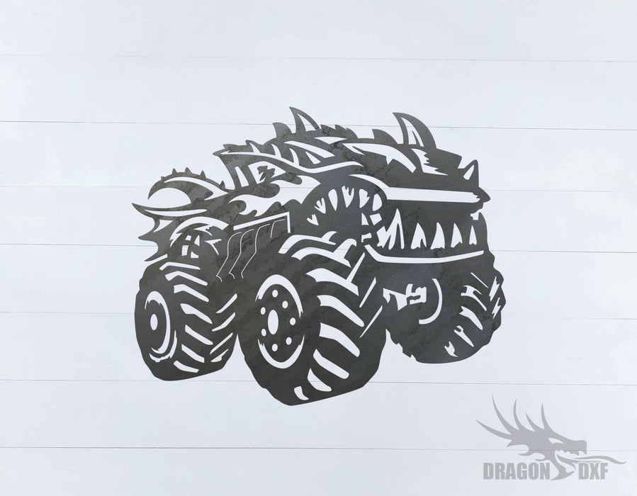 Monster Truck Design 24 - DXF Download