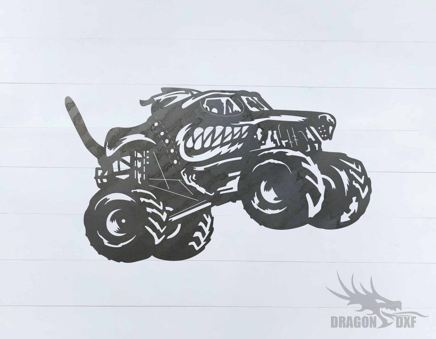 Monster Truck Design 25 - DXF Download