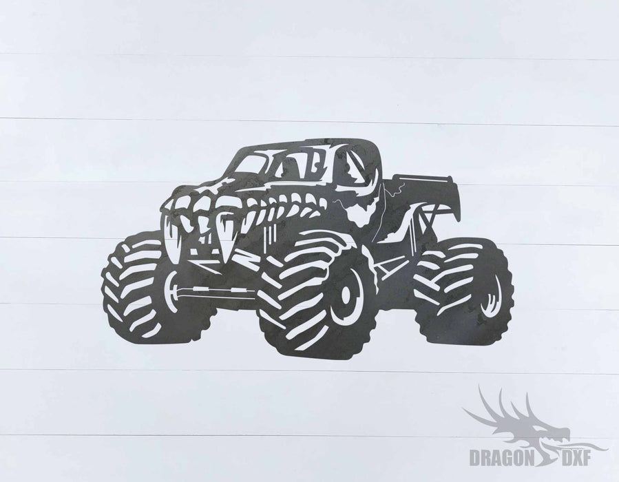 Monster Truck Design 5 - DXF Download