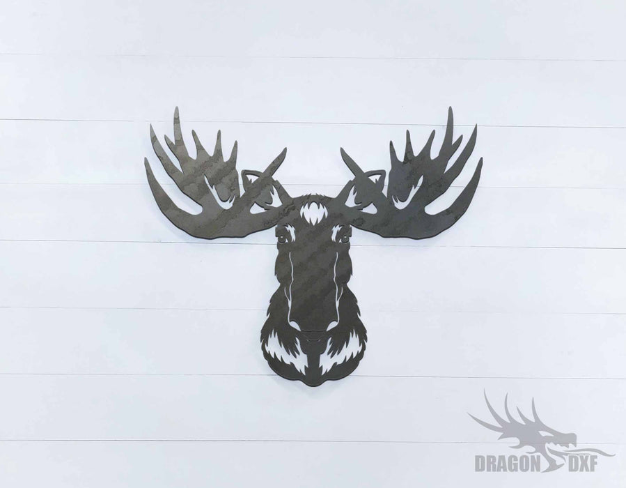 Moose Head - DXF Download
