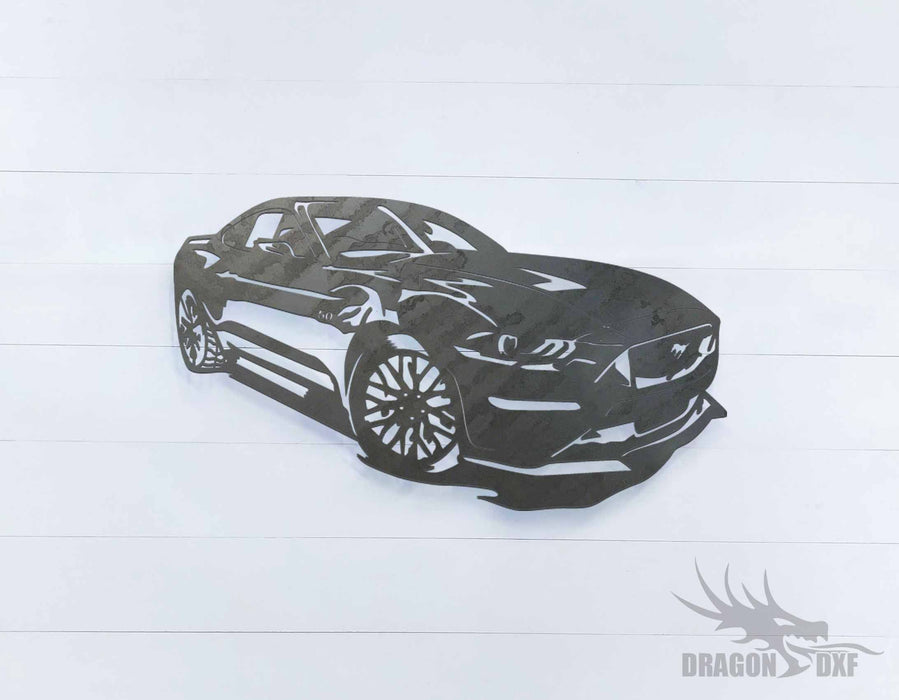 Mustang GT - DXF Download