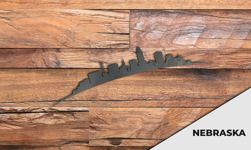 NEBRASKA Cityscape - Downtown Lincoln Silhouette - DXF Download