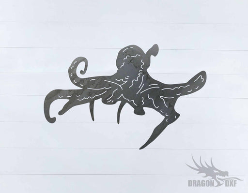 Animal - Octopus Design - DXF Download