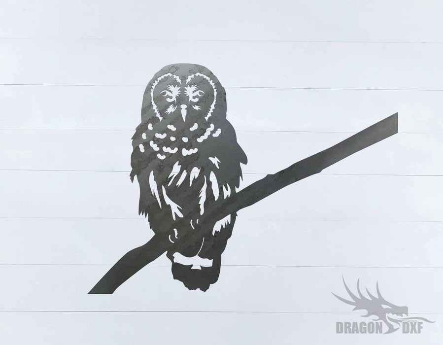 Animal - Owl 11 Design - DXF Download