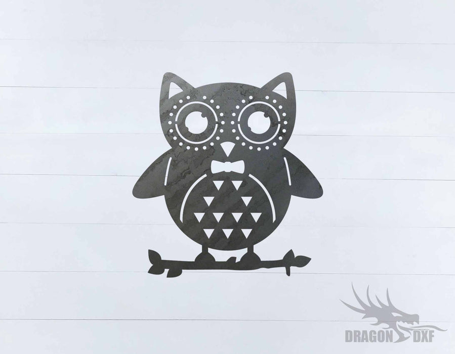 Owl Design 1 - DXF Download