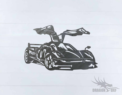 Top Car Design - Pagani Huayra - DXF Download