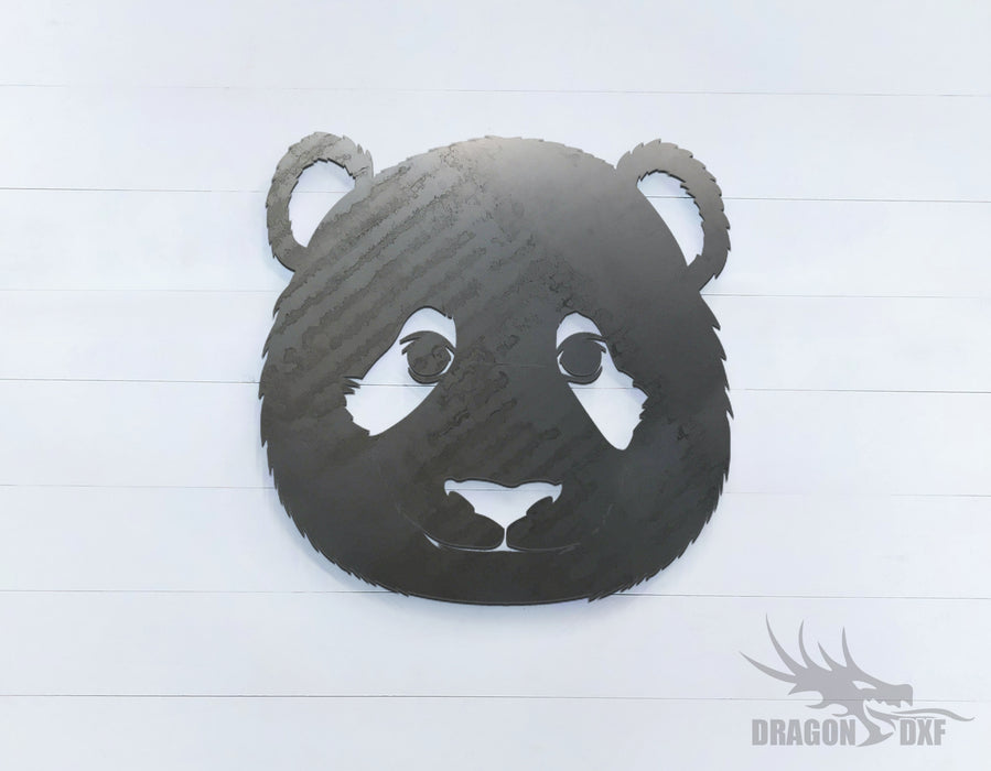 Panda Bear - Zoo Animals -  DXF Download