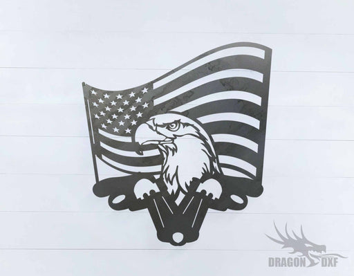 Patriotic Design 12 - DXF Download