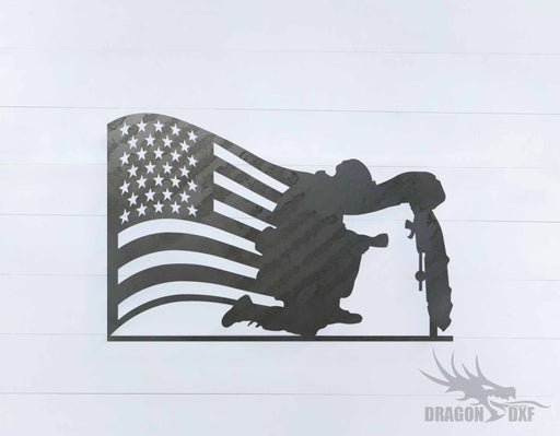Patriotic Design 13 - DXF Download