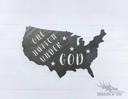 Patriotic Design 14 - DXF Download