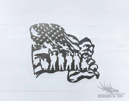 Patriotic Design 15 - DXF Download