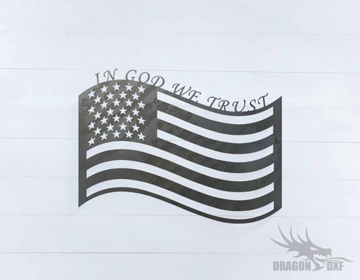 Patriotic Design 18 - DXF Download