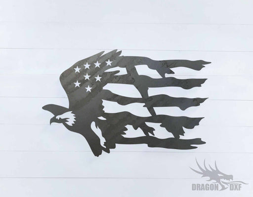 Patriotic Design 1 - DXF Download