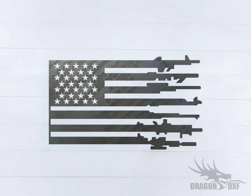 Patriotic Design 20 - DXF Download