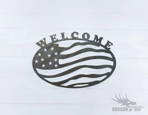 Patriotic Design 4 - DXF Download