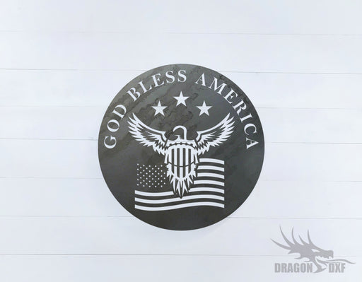 Patriotic Design 6 - DXF Download