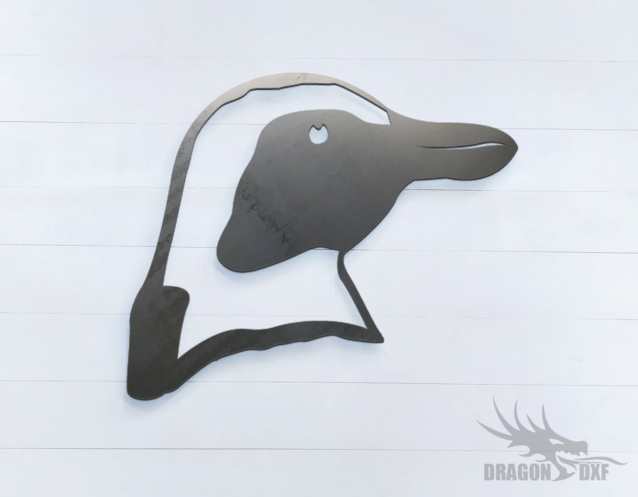 Penguin - Zoo Animals -  DXF Download