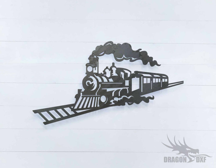 Rail Train - DXF Download