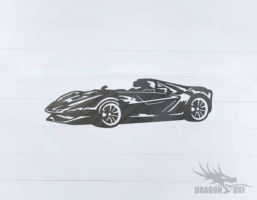 Top Car Design - Rare Ferrari Sergio - DXF Download