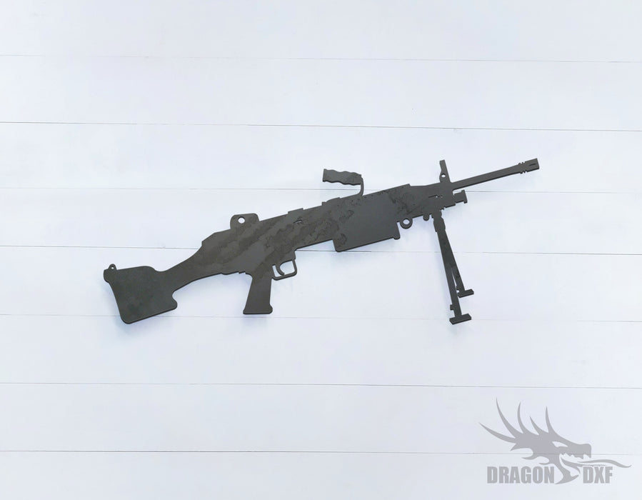 Rifle Gun-12 - DXF Download