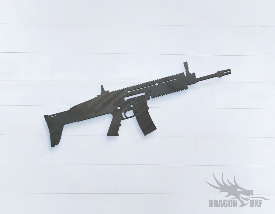 Rifle Gun-15 - DXF Download