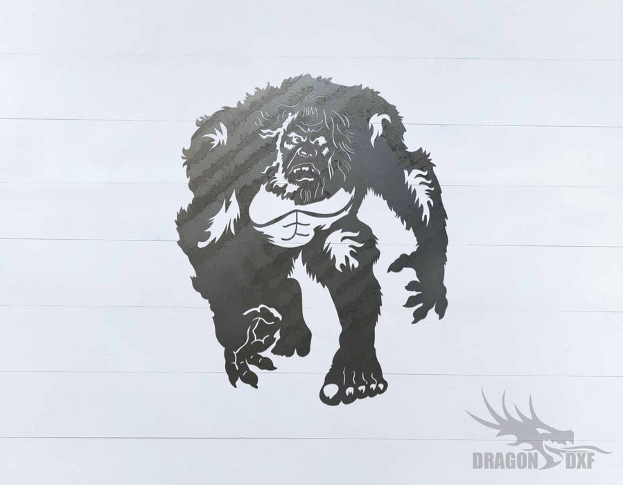Sasquatch Design 10 - DXF Download