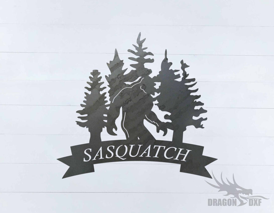 Sasquatch Design 4 - DXF Download