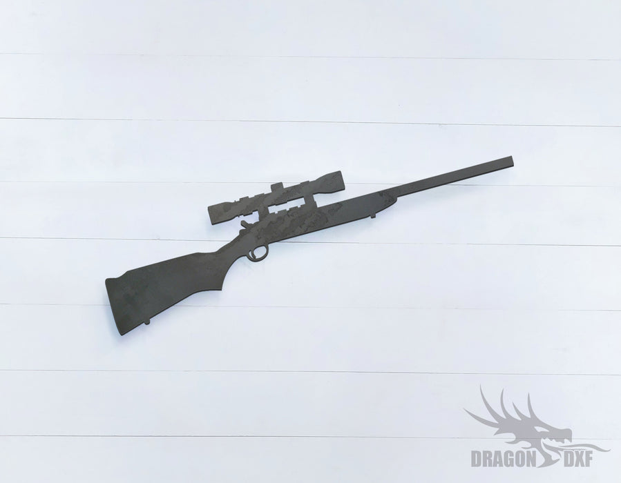 Sniper Rifle-09 - DXF Download
