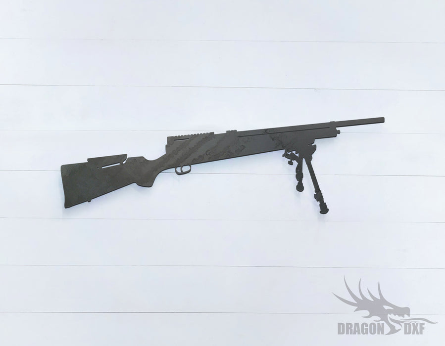 Sniper Rifle-15 - DXF Download