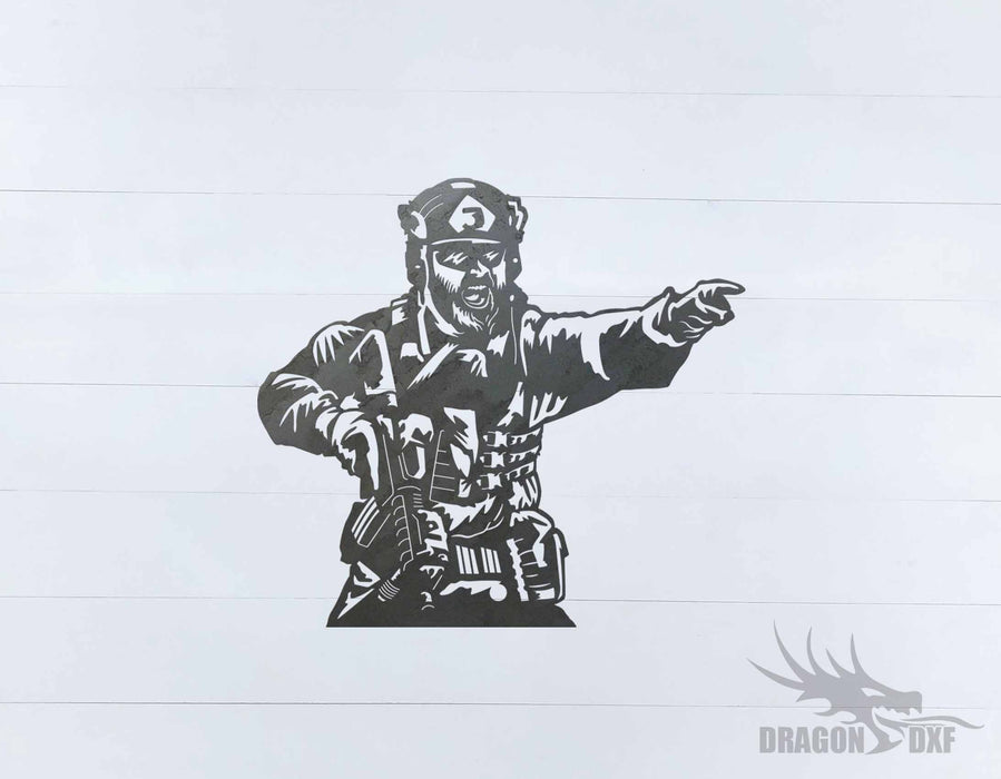 Soldier Design 13 - DXF Download