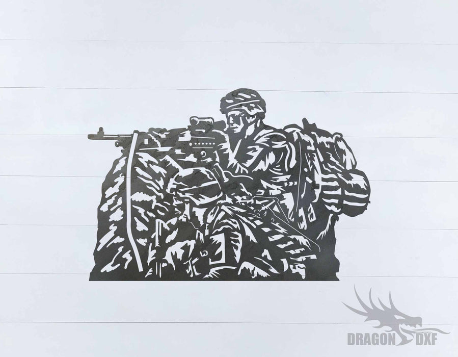 Soldier Design 14 - DXF Download
