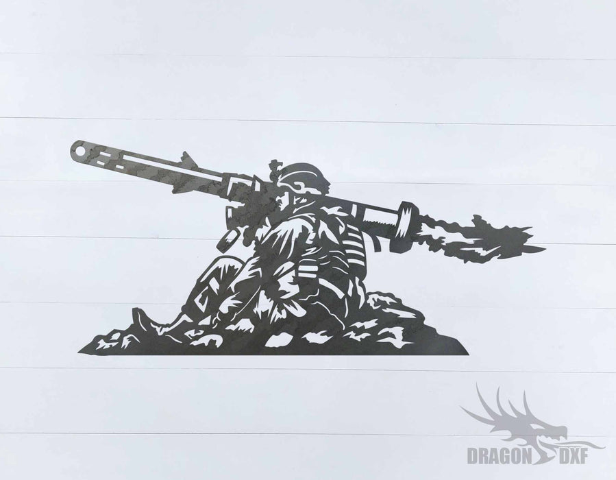 Soldier Design 15 - DXF Download