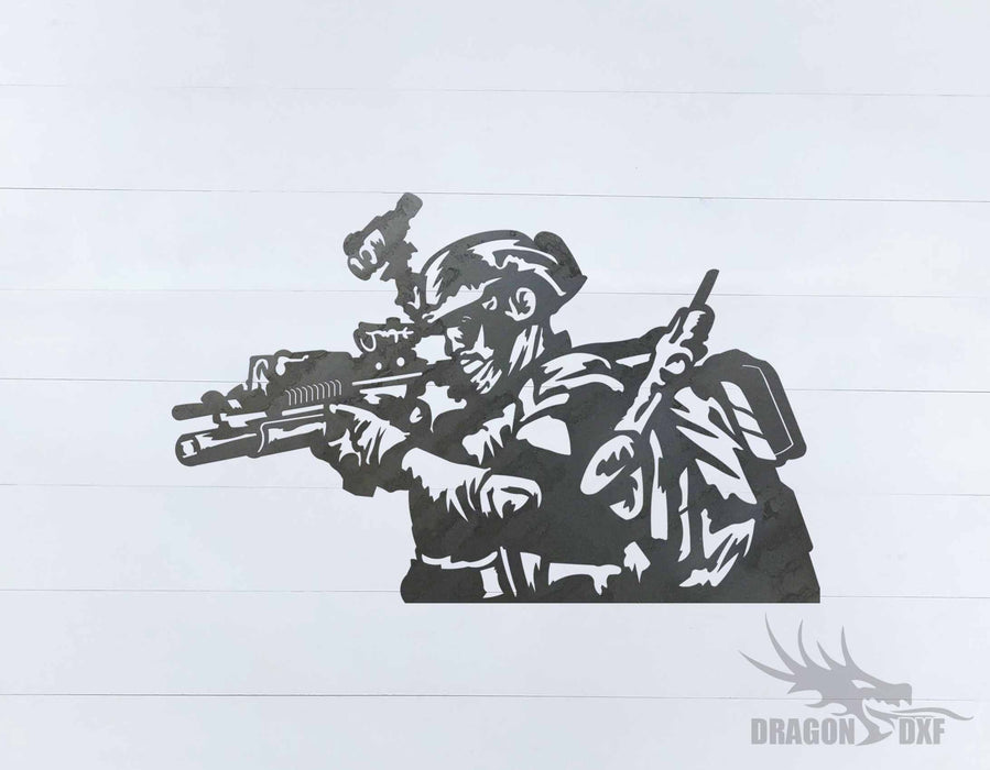 Soldier Design 20 - DXF Download