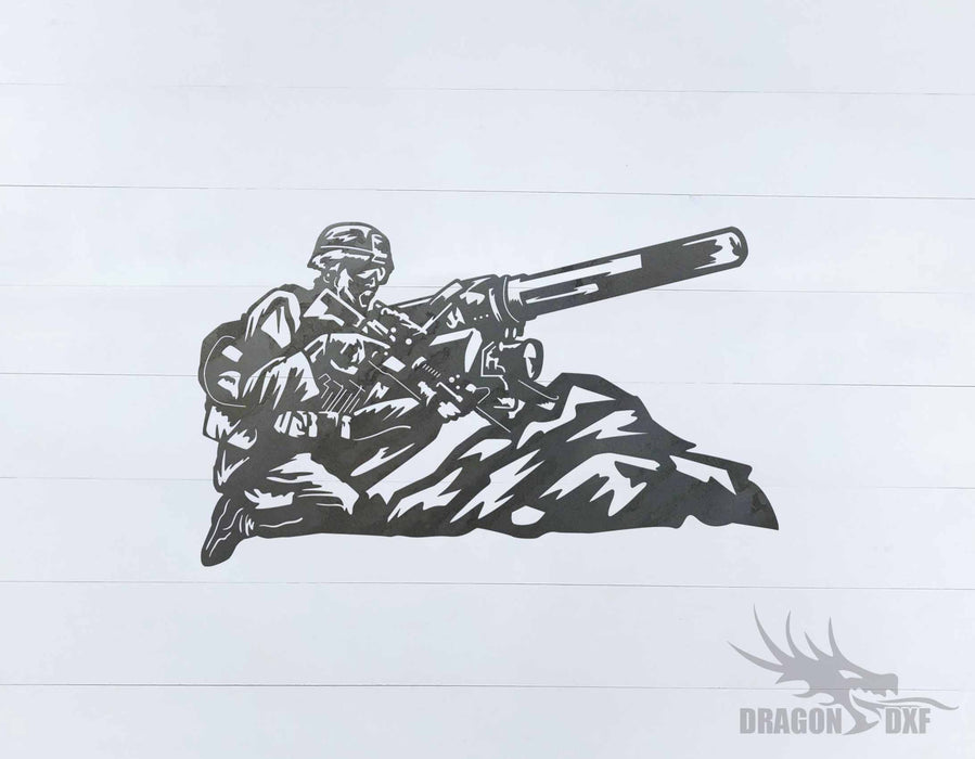 Soldier Design 4 - DXF Download