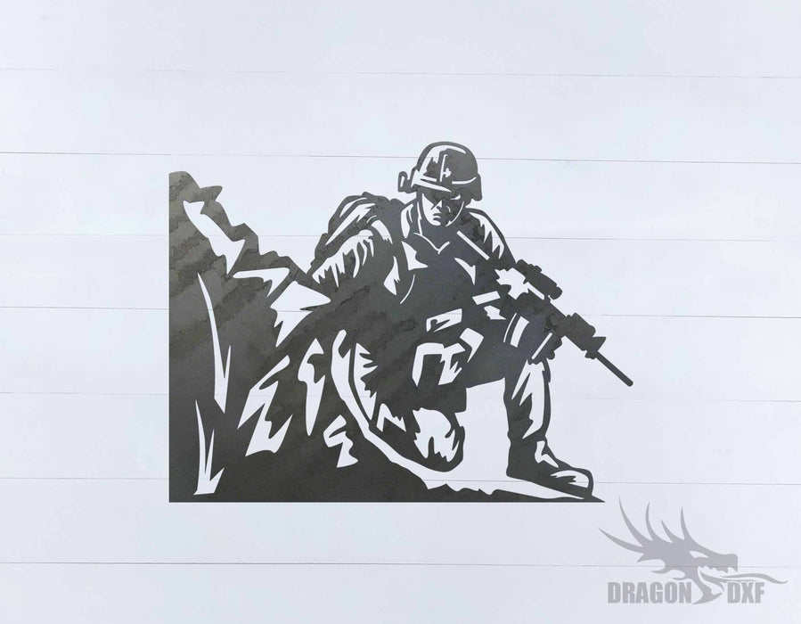 Soldier Design 7 - DXF Download