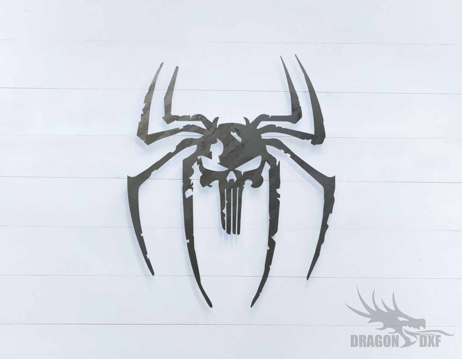Spider Skull  - DXF Download