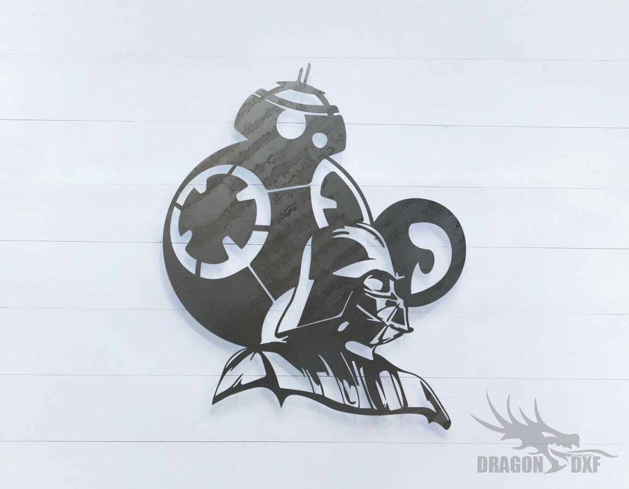 Star Wars  - DXF Download