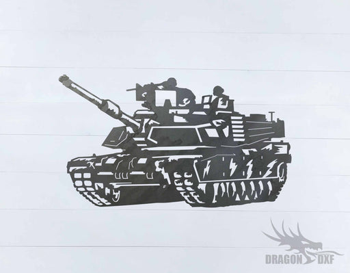 Tank Design 5 - DXF Download
