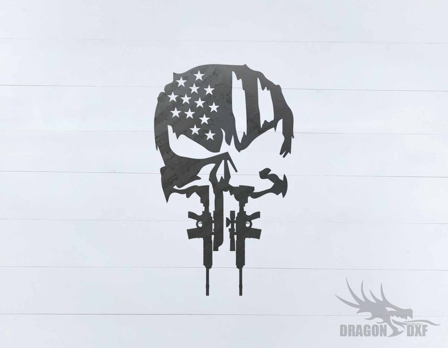 Tattered Flag Design 4 - DXF Download
