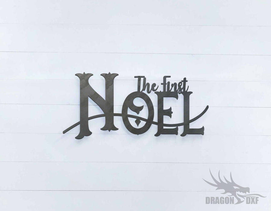 The First Noel Sign - DXF Download