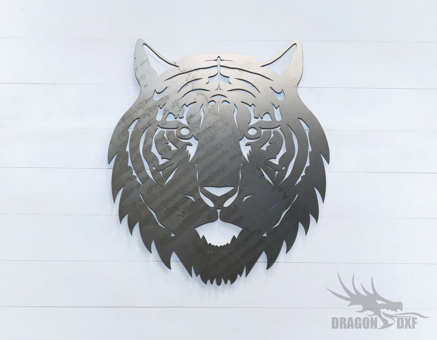 Tiger - Zoo Animals -  DXF Download